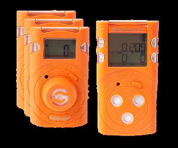 détecteurs mono et multigaz O2 CO H2S et LIE